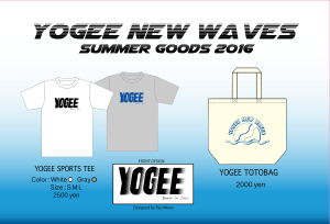 YOGEE SUMMER GOODS 2016-01